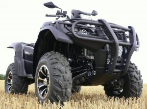 Бампер задний QUADRAX ELITE SUZUKI KING QUAD 450/500/700/750 15-8521W